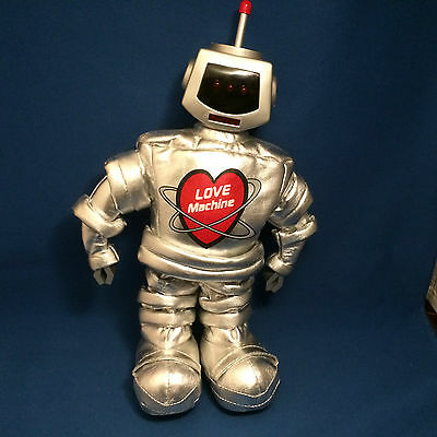 Love Machine singing and dancing robot