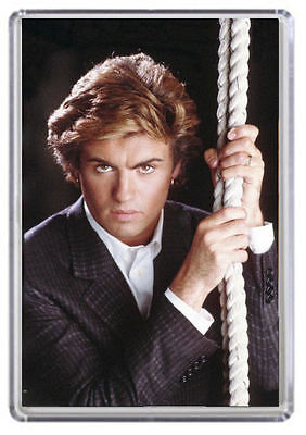 George Michael wham Fridge Magnet 01