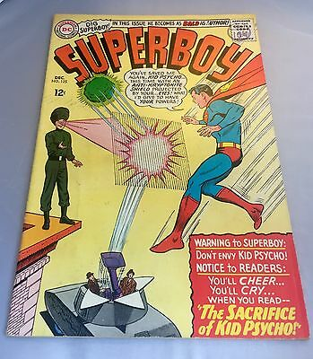 Superboy #125. DC. Legion Of Super-Heroes. VERY GOOD +