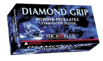 Diamond Grip Gloves, Powder Free, FULL CASE (10 boxes of 100) Choose Size