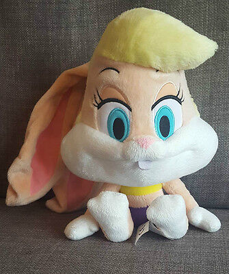 Warner Bros Looney Tunes Lola Bunny Big Headz Heads Rabbit Plush Soft Toy Teddy