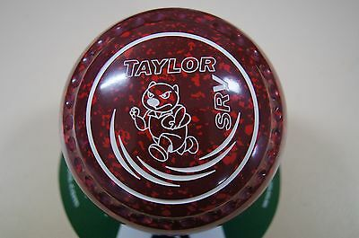 New Taylor SRV - Half Pipe Grip Size 4 - Maroon/Red