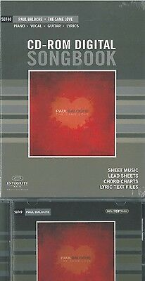 Paul Baloche Resource Set - The Same Love (CD-Rom Songbook + Split Track CD