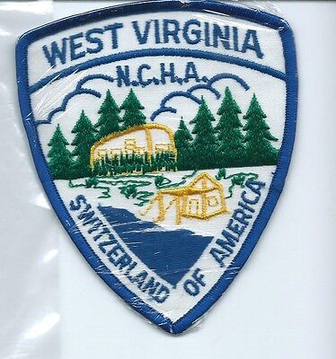 West Virginia Switzerland of America NCHA patch 4-3/4 X 4 #1326
