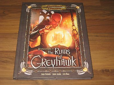 D&D 3.0 / 3.5 Edition Expedition to the Ruins of Greyhawk HC Adventure TOP WotC