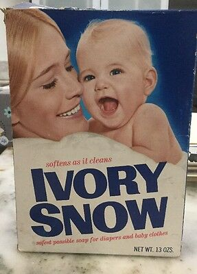 Vintage original Marilyn Chambers Ivory Snow Detergent Box, Plus Signed Envelope