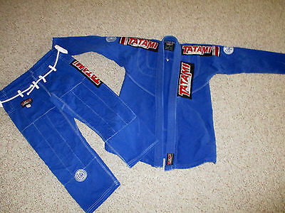 Tatami Fightwear Royal Blue Women's Size F3 Estilo 3.0 Pants Jacket Top Great!