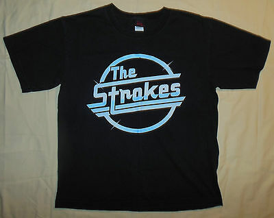 2006 Cinder Block The Strokes Band Concert T Shirt L Youth - S Mens Transformers