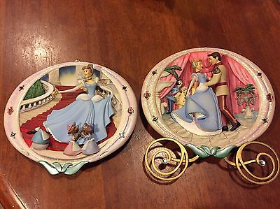 Bradford Exchange Cinderella An Enchanted Evening 1st issue 3D Plate Plaque.
