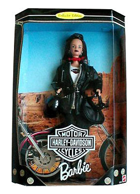 Barbie Doll Harley Davidson 1998 #3 New Collector Edition
