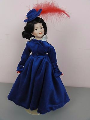 Franklin Heirloom Franklin Mint Bonnie Blue Butler Gone with the Wind Doll Porce
