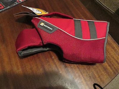 Ruffwear K9 Float Coat, Small, Red Currant-new with tags