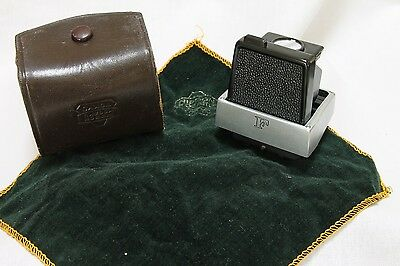 early Nikon F  waist level finder, mint with case
