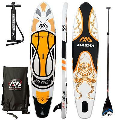 AQUA MARINA MAGMA Stand Up Paddle Board SUP inflatable iSUP Carbon Paddle
