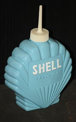 SHELL handy oiler NEW oil gas lubrication advertising sign man cave lube vintage