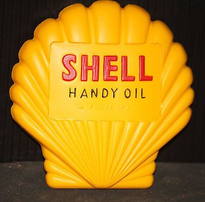 SHELL MAGNET NEW oil gas lubrication advertising sign man cave vintage fridge