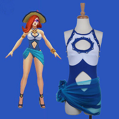 Annie League of Legends Miss Fortune/Bounty Hunter Cosplay Costume Custom Made