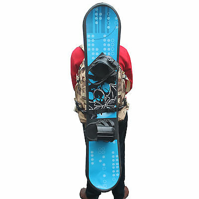 Snowboard Backpack Attachment Carrier Holder - No Backpack Instruction Included