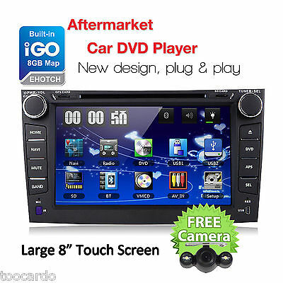 "8"" Touch Screen Car CD DVD Player GPS Stereo Radio For 2007-2011 Toyota Corolla"