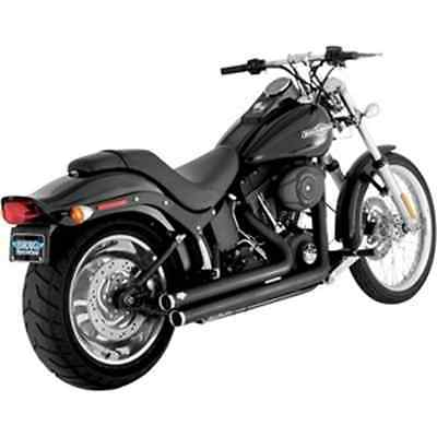 Vance & Hines Big Shots Staggered Exhaust System - Black 47921 HARLEY-DAVIDSON®