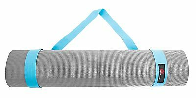 ProSource Yoga Mat Cotton Sling Carry Strap, 152 cm, Aqua