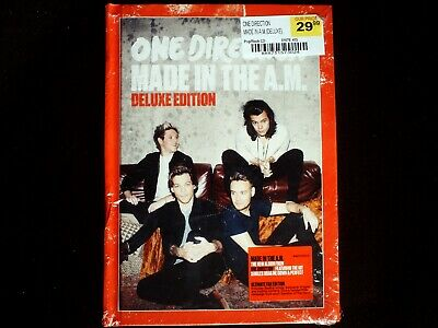 One Direction - Made in the A.M. CD SEALED Deluxe Yearbook Edition