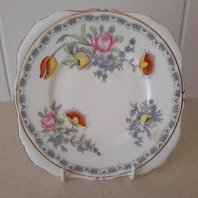 Vintage China Floral Replacement Side Plate by Grafton China Leeds