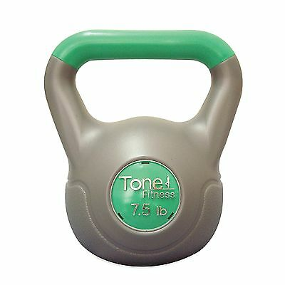 Tone Fitess 10 -Pounds Cement Filled Kettlebell