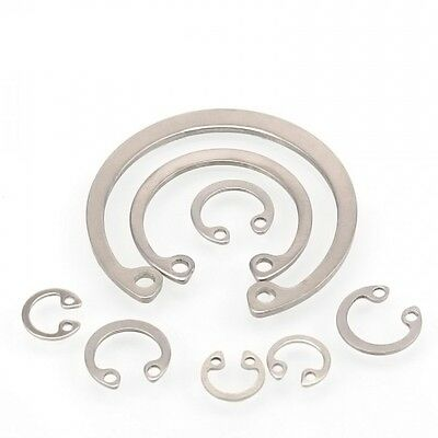 A2 304 Stainless Steel Internal Retaining Ring Circlip Snap Ring Ф9mm-Ф36mm