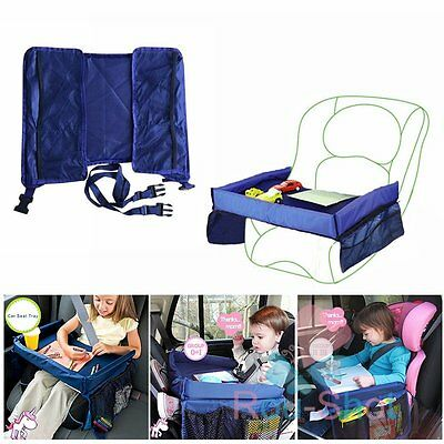 Waterproof Kids' Snack Play On the Go Play Tray Travel Board/Car Safety Seat【AU】