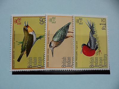 British Indian Ocean Territory Stamps, 1975, Birds, SG71-73, Mint NH