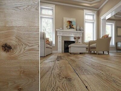 160mm Classique Floorboards - Engineered Medium Oak Natural Wood Flooring E11GC1