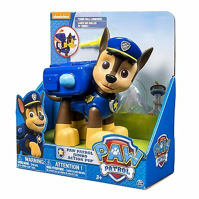 Paw Patrol Jumbo Action Figure - Chase by Spinmaster
