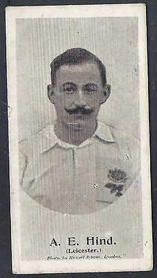Taddy-Football Ers (New Zealand) 1906- Leicester - Ae Hind