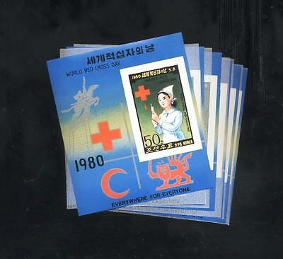 (930061) 6x Red Cross, Small lot,