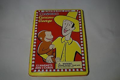 Magentic Curious George - 52 Magnet Story Telling Toy - Excellent Condition