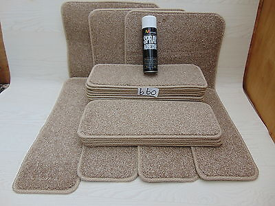 Stair pads / treads 21 off and 3 Big Mats with a FREE can of SPRAY GLUE (660#)