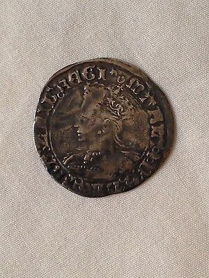 mary groat silver hammered coin metal detecting find I 1st bloody