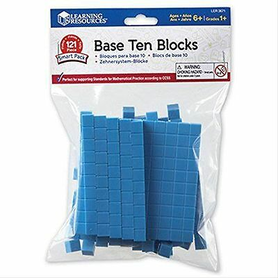 Learning Resources Base Ten Blocks Smart Pack