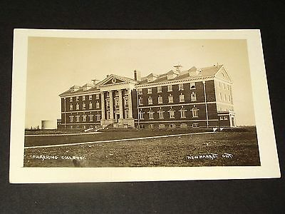 NEWMARKET Ontario: PICKERING COLLEGE SCHOOL - A+ 1910-15 Real Photo Postcard
