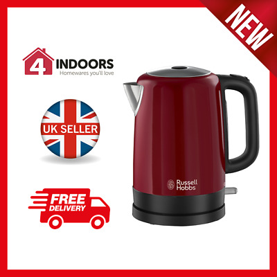 BRAND NEW: Russell Hobbs 20612 Canterbury Jug Kettle, Fast Boil 1.7L, 3Kw in Red