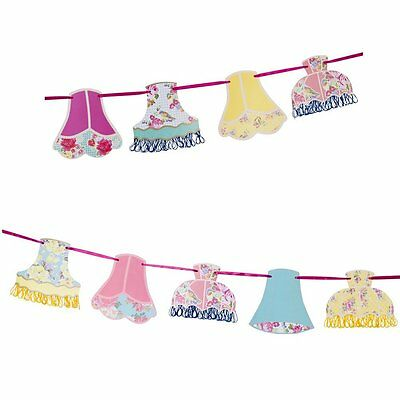 Talking Tables Truly Scrumptious Lampshade Bunting 4m Party Decoration