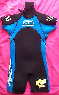 Banana Bite Baby Wetsuit Size 0 (2-3Years) Excellent Condition
