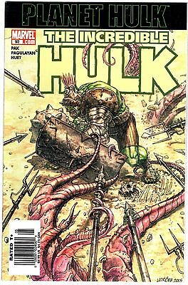 Marvel The Incredible Hulk #92 First Planet Hulk Rare News Stand Variant