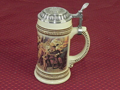 Limited Ed. 1999 Paul Sebastian Fine Fragrance Co. Lidded Beer Stein - Germany