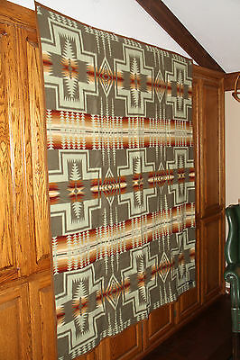 """PENDLETON BLANKET 64"""" x 80"""" NEW WITH TAGS IN BOX HARDING THYME BLANKET"""