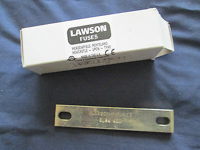 Lawson Slb4400 400 Amp Solid/neutral Links For Bs88 Carriers