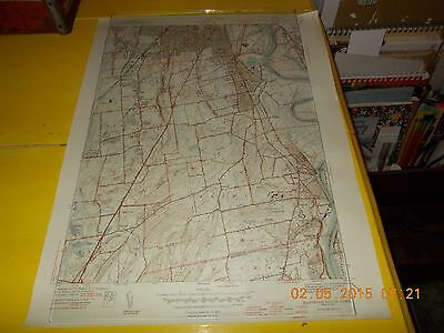 Map Of Hartford,ct(South)- Geological Survey-1940's