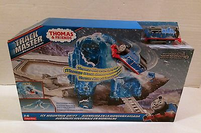 Thomas Train Icy Mountain Drift Snow Holiday Set by Trackmaster NEW