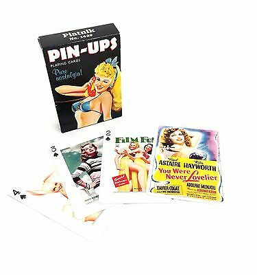 Pin-Ups Playing Cards Classic Pin-Up Beauties Casino Poker Magic Card Deck